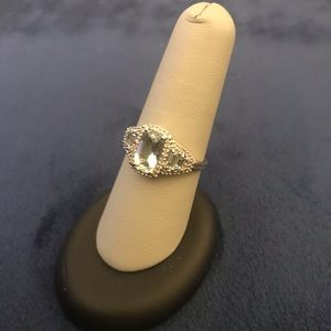 Jewelry - 14k Gold Aquamarine Ring
